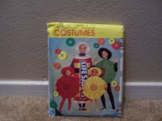 McCalls Costumes Life Savers P381 Halloween by doyourememberwhen, $3.00