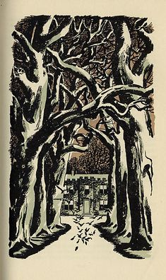 Jane Eyre Illustrations - Edward A. WilsonChange house to farm Jane Eyre, Bronte Sisters, 6th Grade Art, Charlotte Bronte, Illustration Art, Book Illustrations, Goth Art, Wood Engraving, Classic Books