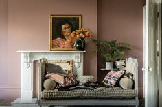 Expect some new adjectives to enter your colour vocabulary, because Farrow & Ball is adding nine new paint shades. Farrow & Ball new colours. Farrow Ball, Farrow And Ball Paint, Farrow And Ball Bedroom, Farrow And Ball Kitchen, Gold Interior, Interior Walls, Interior And Exterior, Interior Design, New Paint Colors
