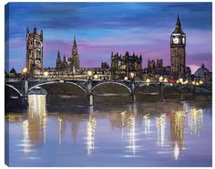City Nights by Paul Kenton Available from Westover Gallery £685