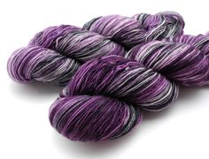 Viola Overboard - Hand Dyed Yarn - Dyed to Order by  Dyeabolical