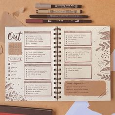 To in love by the format of this week This time I added a mini habitat … Bullet Journal Ideas, Bullet Journal Tracker, Bullet Journal Lettering Ideas, Bullet Journal Notebook, Bullet Journal Aesthetic, Bullet Journal School, Bullet Journal Layout, Bullet Journals, Bujo Planner