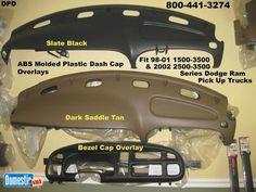 Covers Your Bezel Dodge Ram Molded Gauge Bezel Cover Skin 1999 2000 2001