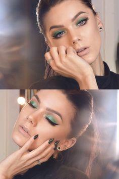 Linda Hallberg, makeup artist.