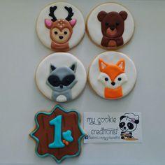 Pedido de varias semanas atrás. 🍪❤😍😊🐨 #firstbirthdaycookies #firstbirthday #animalscookies #mycookiecreations