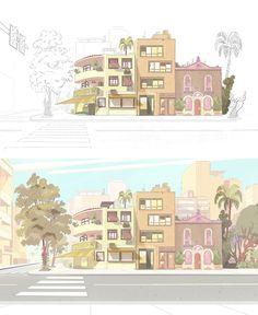 Artes do seriado Oswaldo, do Birdo Studio, por Bernardo França | THECAB - The Concept Art Blog