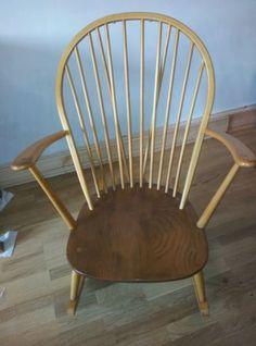 Retro vintage Ercol rocking chair | eBay
