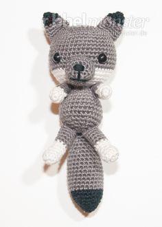 Baby Knitting Patterns Toys Crochet Pattern - Instructions - Amigurumi - love to crochet Wolf Crochet Wolf, Crochet Diy, Crochet Amigurumi, Amigurumi Doll, Amigurumi Patterns, Crochet Animals, Scarf Crochet, Baby Knitting Patterns, Crochet Patterns