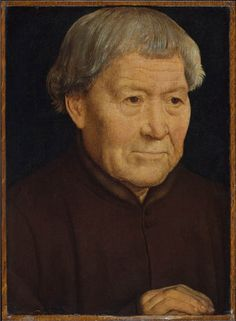 Hans Memling, Portrait of an old man,1475
