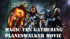 Magic the Gathering Movie - Planeswalkers - (Fan)