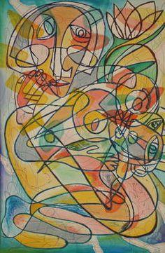 "Saatchi Art Artist Sergey Parfenuk; Painting, ""Picasso's Childhood"" #art"