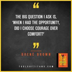 """Click to find more Quotes from Tim Ferriss' book! And to see my review of """"Tools of Titans"""". This an inspirational quote by Brené Brown that you can find in Tim Ferriss new book Tools of Titans.  A great book for entrepreneurs, full of productivity, health, wealth, tips and habits!"""