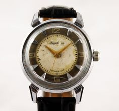 KIROVSKIE Extremly RARE Vintage watch 16 Jewels 1-MChZ KIROVA 1950's made in Ussr