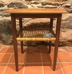 Small table, restored & waxed with Osmo Top Oil High Solid