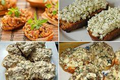 Cele mai gustoase 12 paste tartinabile - Salvează rețetele, îți vor fi de mare folos Romanian Food, Canapes, Finger Foods, Pesto, Baked Potato, Mashed Potatoes, Side Dishes, Sandwiches, Brunch