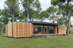 Pop-Up House, maison passive, à bas coût (1300/2000€m2), mais aussi entièrement recyclable.