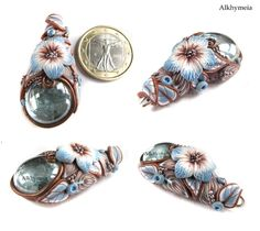 Polymer clay pendant by Alkhymeia