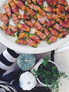 Prosciutto-Wrapped BBQ Jalapeno Poppers | Bev Cooks