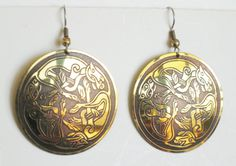 Celtic Knot Earrings for St Patrick's Day by mainevintagetreasure, $22.00