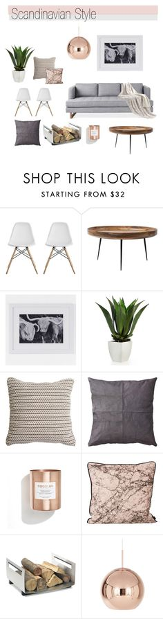 Scandinavian Syle Mood Board by greenvalleynest on Polyvore featuring interior, interiors, interior design, home, home decor, interior decorating, mater, Dorel, Tom Dixon and blomus