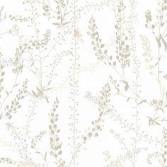 Brewster Home Fashions Scandinavian Designers II Bladranker Botanical x Wallpaper Roll Colour: Beige Beige Wallpaper, Botanical Wallpaper, Wallpaper Decor, Bathroom Wallpaper, Wallpaper Samples, Wallpaper Roll, Botanical Prints, Grey And Green Wallpaper, Wallpaper Stairs