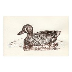 """ORIGINAL, 2016 4 x 6"""" Art, Brown India Ink on Paper Frame: Chirpwood - consignment, classic waxed dutch oven *Currently on display for purchase at Acre Auburn"""