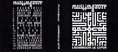 #muslimgauze #ambient #oriental #industrial #experimental #electronic #music #artwork - lazhareem ul leper cover