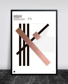 Buus Works - KØBENHAVN 50 x 70 cm
