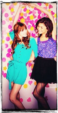 Bella Thorne and Zendaya love there outfits.