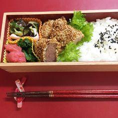 Pork fillet cutlets – Japanese lunch box
