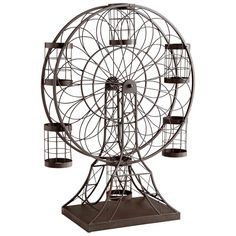 Ferris Wheel Wine Holder in Ebony - #WineHolder #winerackideas #winerack #FerrisWheel #HomeDecor #InteriorDesigner #interiordesignideas #HomeDecorating #interiordesign #furniture #efurnituremart #HomeDecorator #decor #roomdecorating - eFurnitureMart, eFurniture Mart