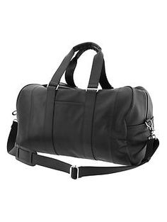 64d83df95a Banana Republic Leather Duffle Bag in Brown for Men (tan)
