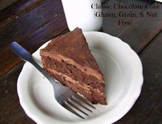 Chocolate cake - I wonder if I could split the recipe, use gelatin eggs and carob to make it AIP