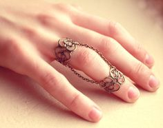 Pair of Retro Vintage Lace Knuckle Rings Free by kellyatlarge Vintage Lace, Retro Vintage, Mid Finger Rings, Piercings, Knuckle Rings, Etsy Jewelry, Jewelry Collection, Jewelery, Fashion Accessories