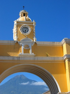 I am torn by which board to pin this upon...love it for several!  What great architecture and color! (Guatemala)