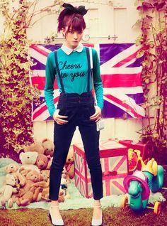 Yagi Arisa ! Such a pretty Japanese model