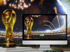 30 Beautiful FIFA World Cup 2014 Desktop Wallpapers