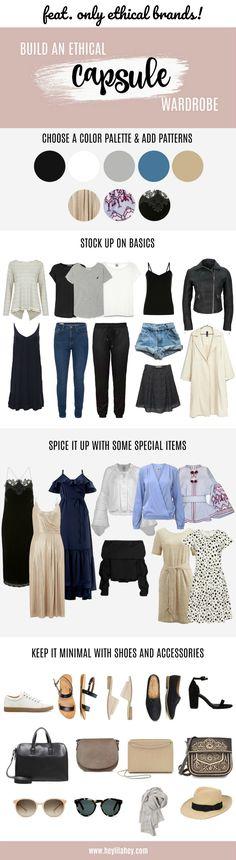 Fair Fashion Capsule Wardrobe: Mit vielen Tipps, Hinweisen und Labels!