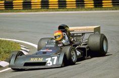 Francois Migault, BRM, 1974 #formula1 #F1