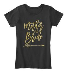 Mother Of The Bride T Shirts Black Women's T-Shirt Front