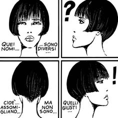 Valentina, Coco e l'Istrione by alma Caricature, French Bob, Thick Bangs, Louise Brooks, Hair Art, Bob Hairstyles, Haircuts, Erotic Art, My Hero