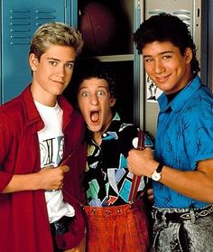 Saved by the Bell  Zack Morris - Screetch - AC Slater