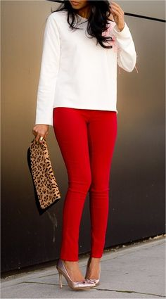 Red/Leopard Combo
