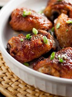Smoky Chipotle Honey-Mustard Glazed Chicken Thighs