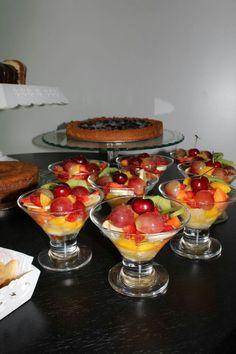 Chá de Bebê / Baby Shower - Salada de frutas, fruit salad