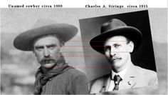 "Is the unknown cowboy, Charles A. Siringo? maltedfalcon: ""  Who is Charles A. Siringo? http://en.wikipedia.org/wiki/Charlie_Siringo """