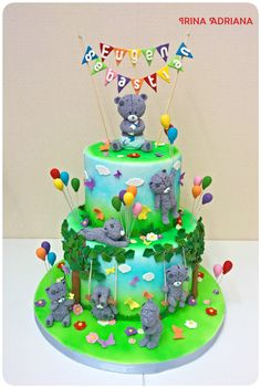 Tatty Bear Cake