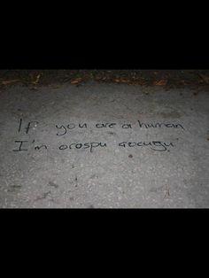 şiir sokakta..