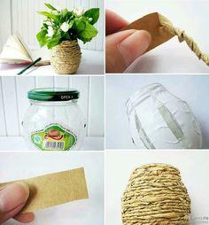 DIY Recycling Vase