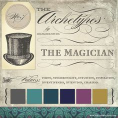 The Magician -- Melissa Bolton's archetypes in branding: